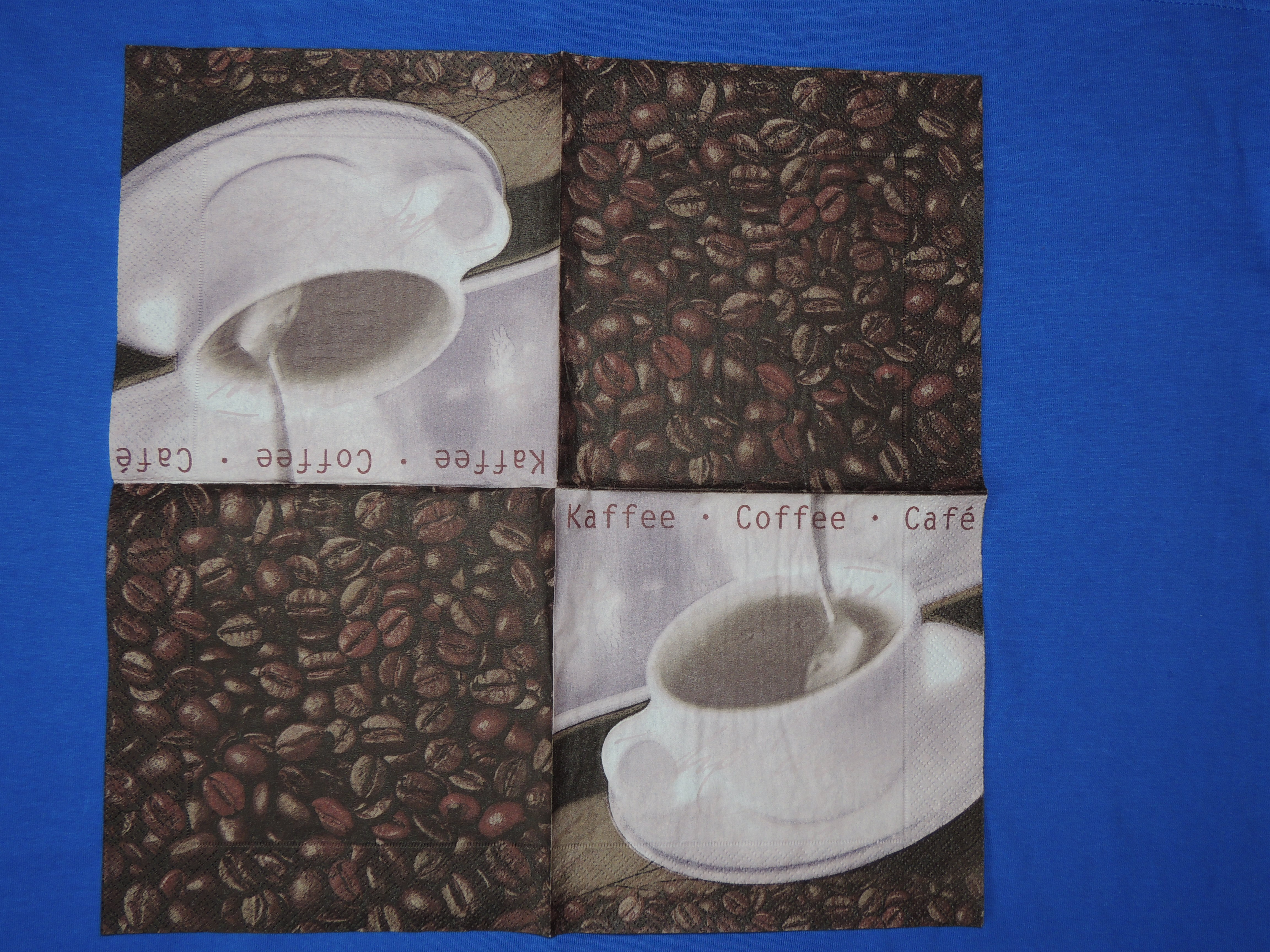 Ubrousek 33x33 - Coffee