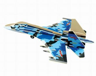 3D prostorové puzzle- J-11 Fighter