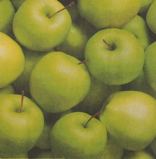 Ubrousek 30x30 - Apples golden